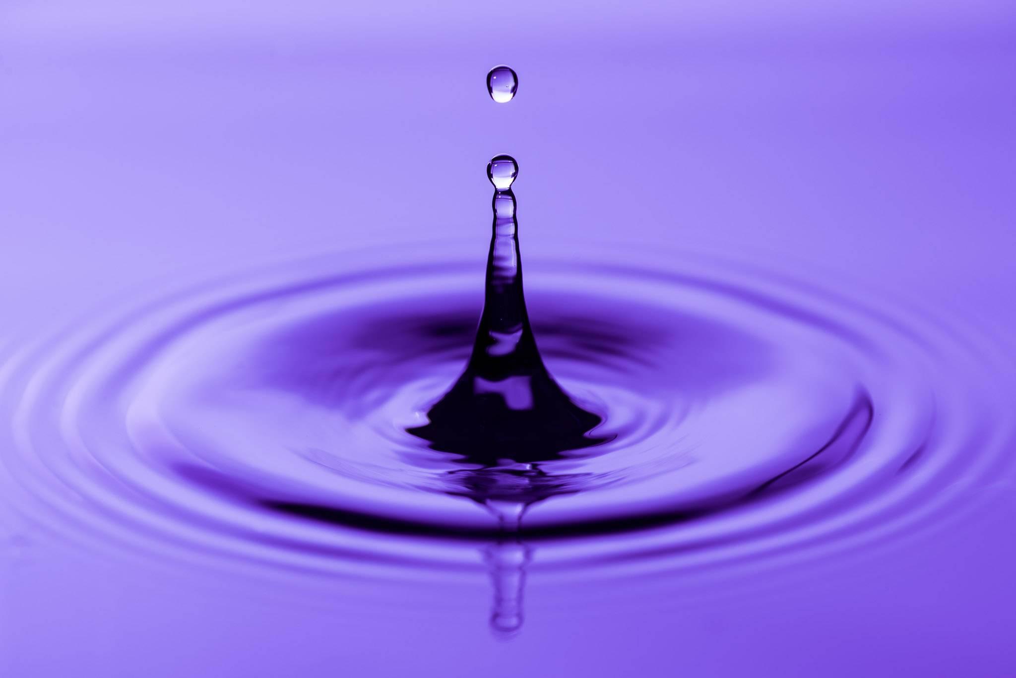 Dråbe i vandet - viser hypnose