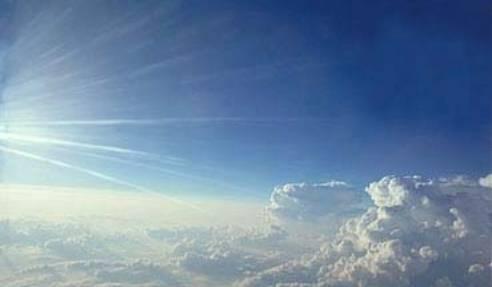 Himmel over skyerne ved regression