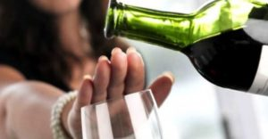 nej til at drikke alkohol