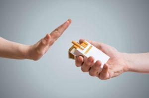 nej til cigaretter som symbol